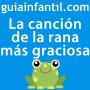 Artwork for La rana cantaba debajo del agua. Canción infantil divertidísima
