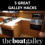 Artwork for Cruising Hacks, Galley-Style