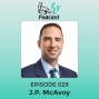 Artwork for EP029 - How to thrive personally and as enrepreneur with J.P. McAvoy