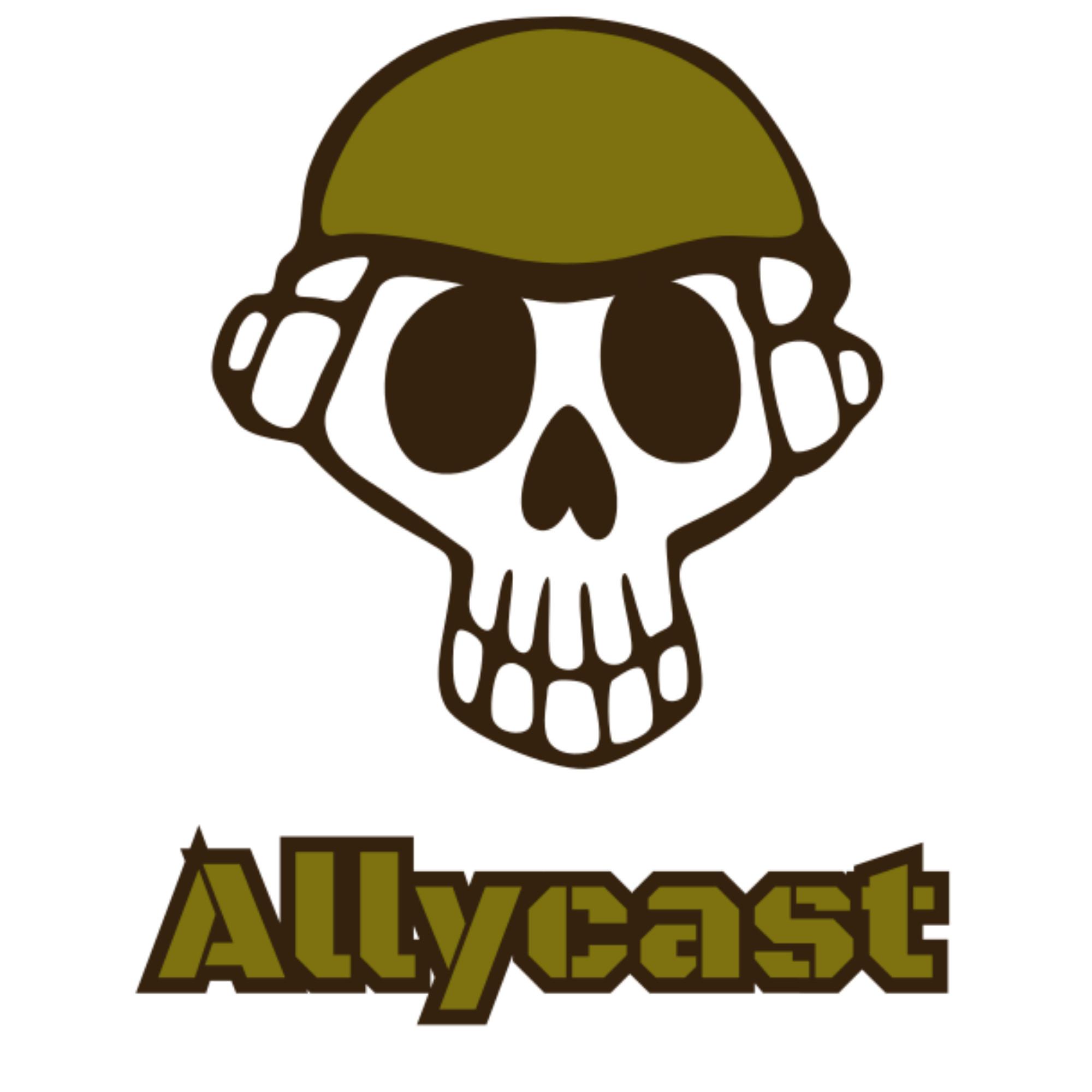 The Allycast show art