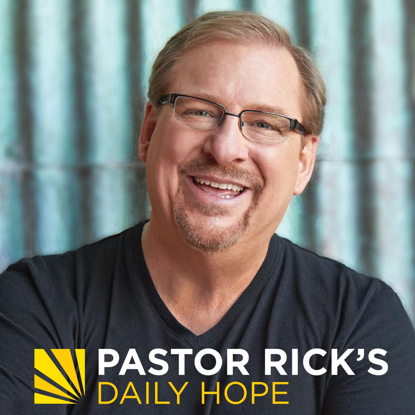 Pastor Rick's Daily Hope
