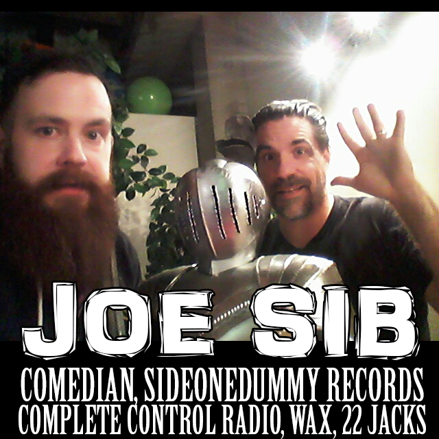Artwork for 107 - Joe Sib Comedian & SideOneDummy Records