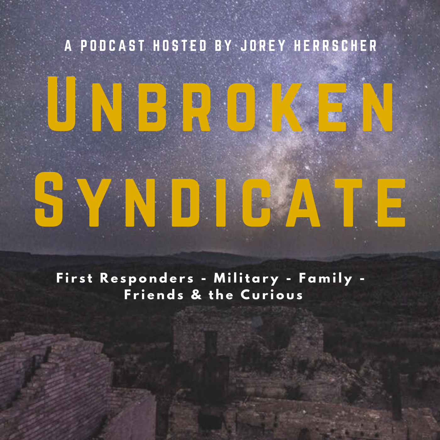The Unbroken Syndicate Podcast show art