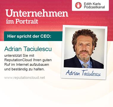 Adrian Taciulescu CEO und Gründer von RepuationCloud