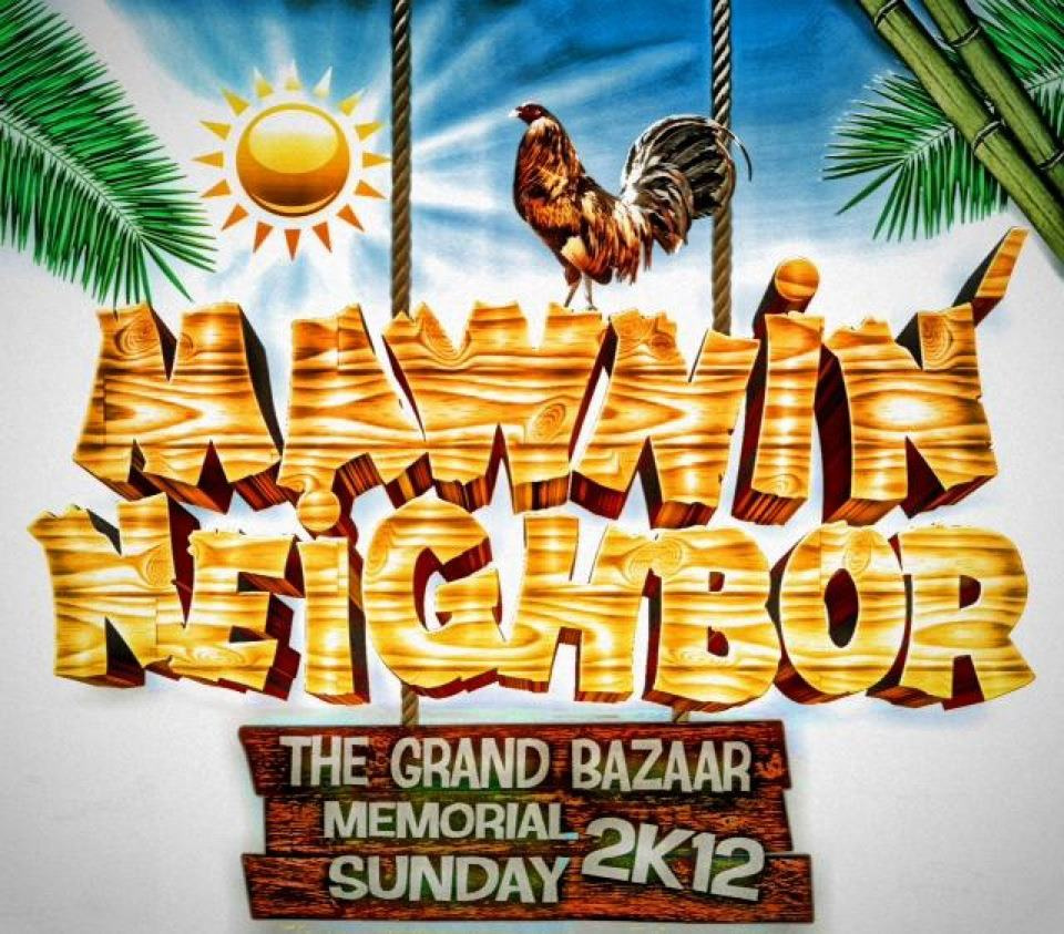 Mawnin Neighbour Grand Bazaar Promo 2012 (Mixed by Dj Private Ryan)