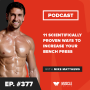 Artwork for 11 Scientifically Proven Ways to Increase Your Bench Press