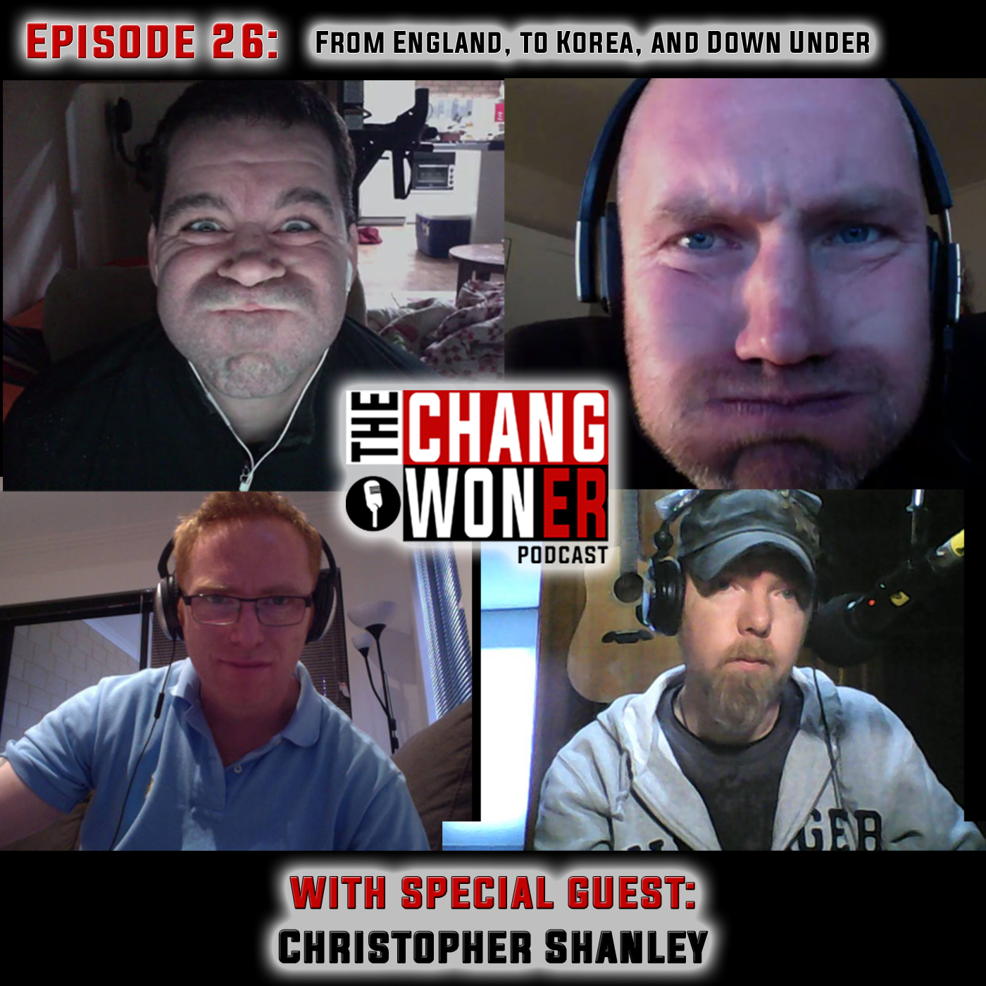 Artwork for Living in England, South Korea, and Australia. What Are the Differences? -guest Christopher Shanley (Ep 26)