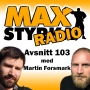 Artwork for Avsnitt 103 - Martin Forsmark