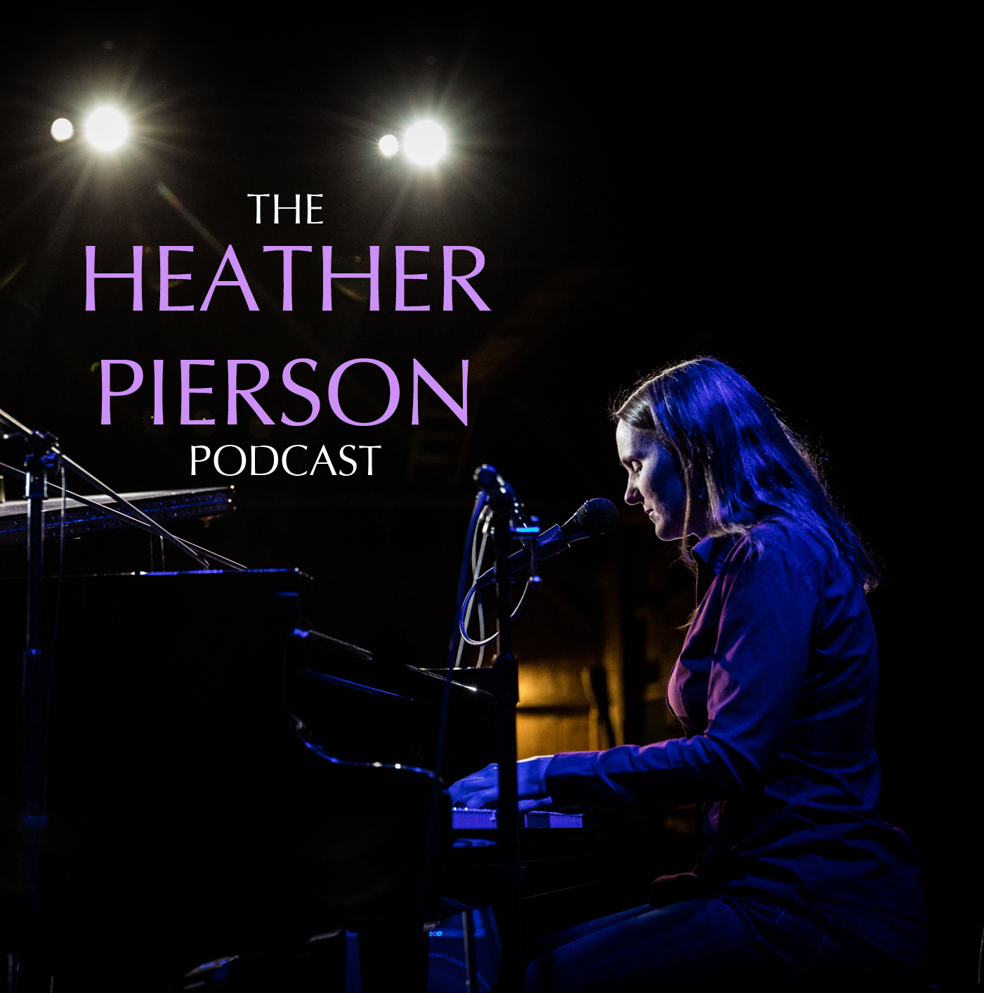 The Heather Pierson Podcast show art
