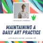 Artwork for Episode 128 - Maintaining a Daily Art Practice with Alanna Cartier