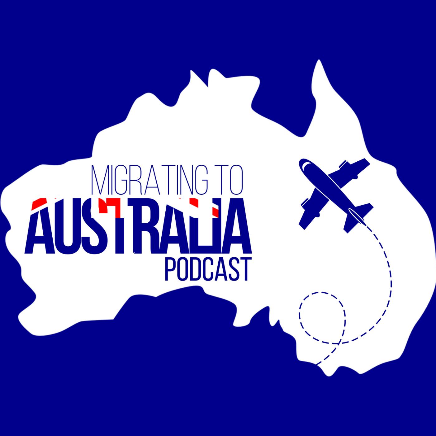 Migrating To Australia Podcast show art