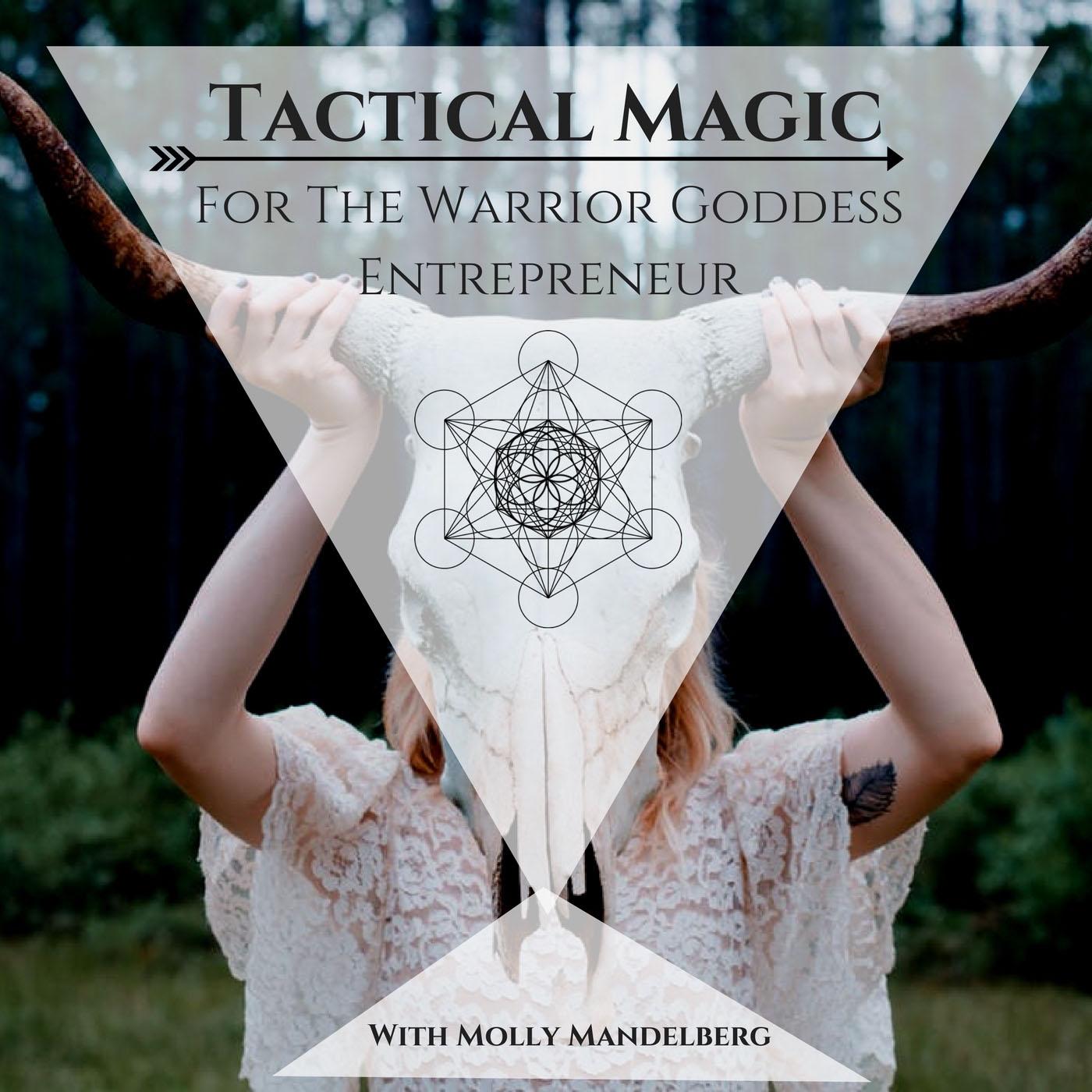 Tactical Magic Podcast show art