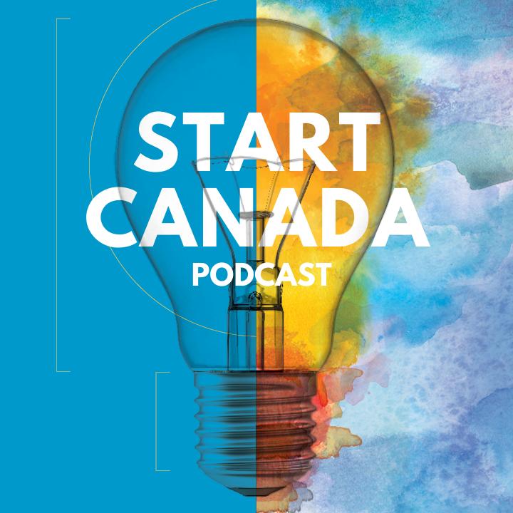 Start Canada Podcast show art