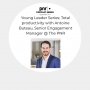 Artwork for Young Leader Series: Total productivity with Antoine Buteau, Senior Engagement Manager @ The PNR