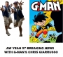 Artwork for Aw Yeah 57 Breaking News With G-Man's Chris Giarrusso