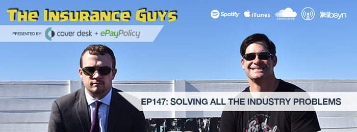 Michael McCormick and Taylor Dobbie on The Insurance Guys Podcast