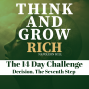 Artwork for Day 8 The Decision Challenge - Think and Grow Rich 14 day challenge