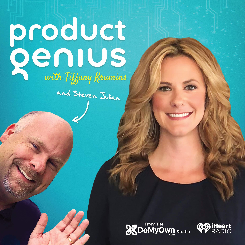 Product Genius with Tiffany Krumins | Shark Tank Winner show art