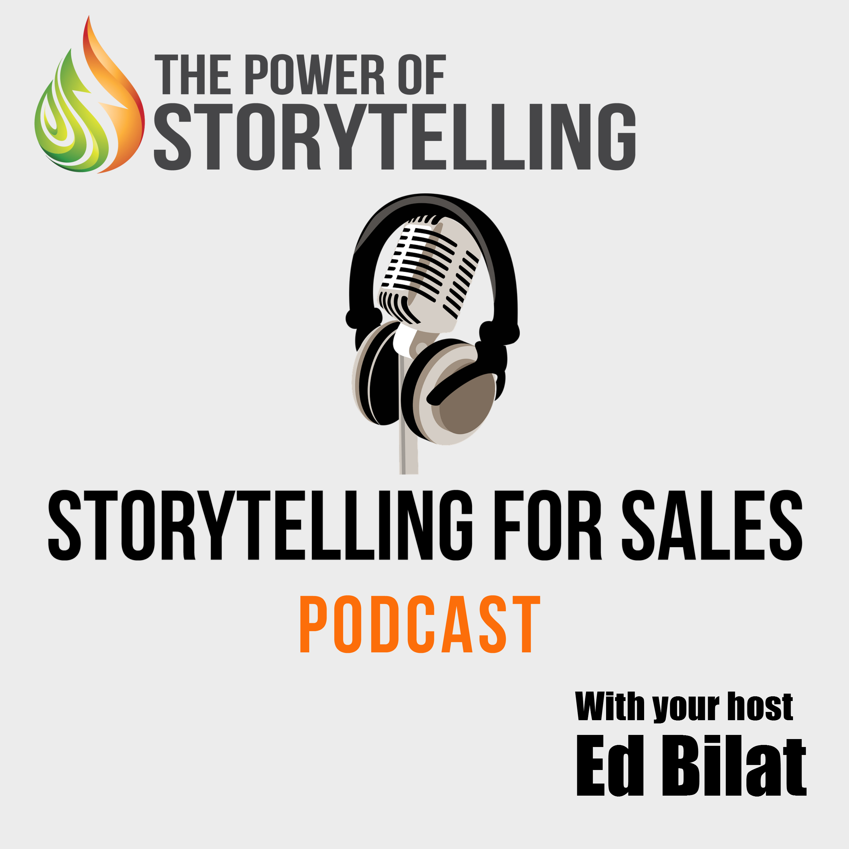 Storytelling for Sales Podcast show art