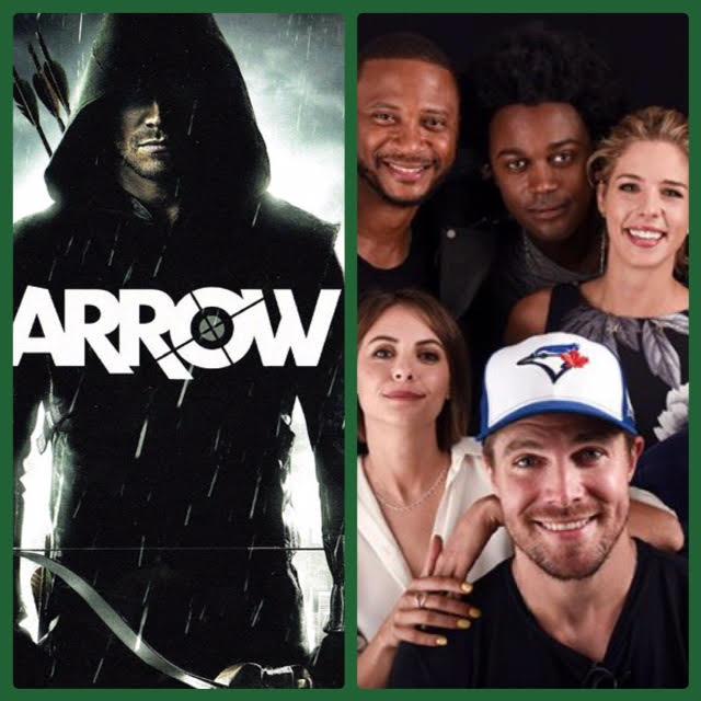 Episode 711 - SDCC: Arrow w/ Stephen Amell/Willa Holland/Paul Blackthorne/Emily Bett Rickards/Echo Kellum/David Ramsey/Producer Wendy Mericle!