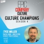 Artwork for Culture Champion Tyce Miller with MobileMind | Episode # 100