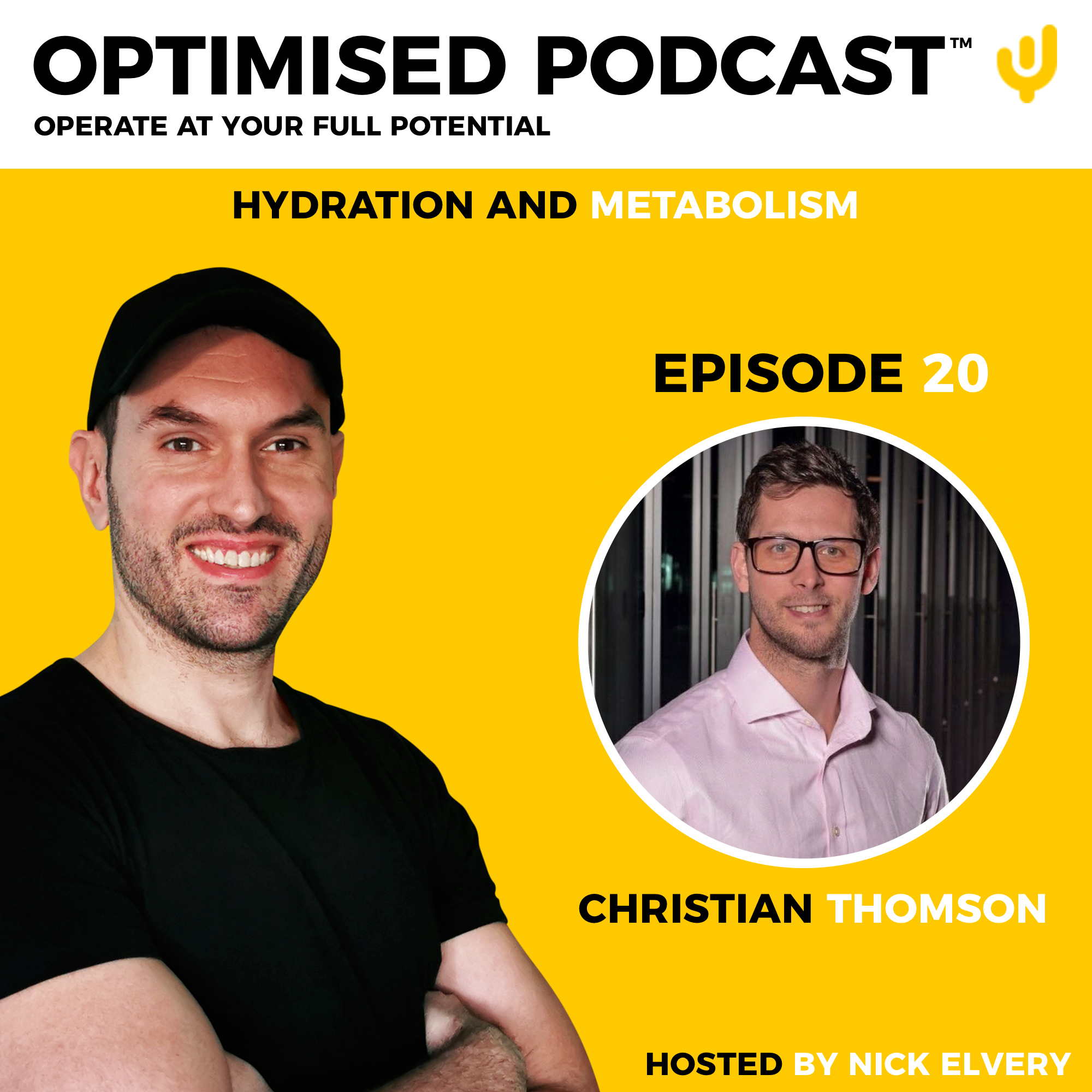 #20 – Hydration and Metabolism with Christian Thomson
