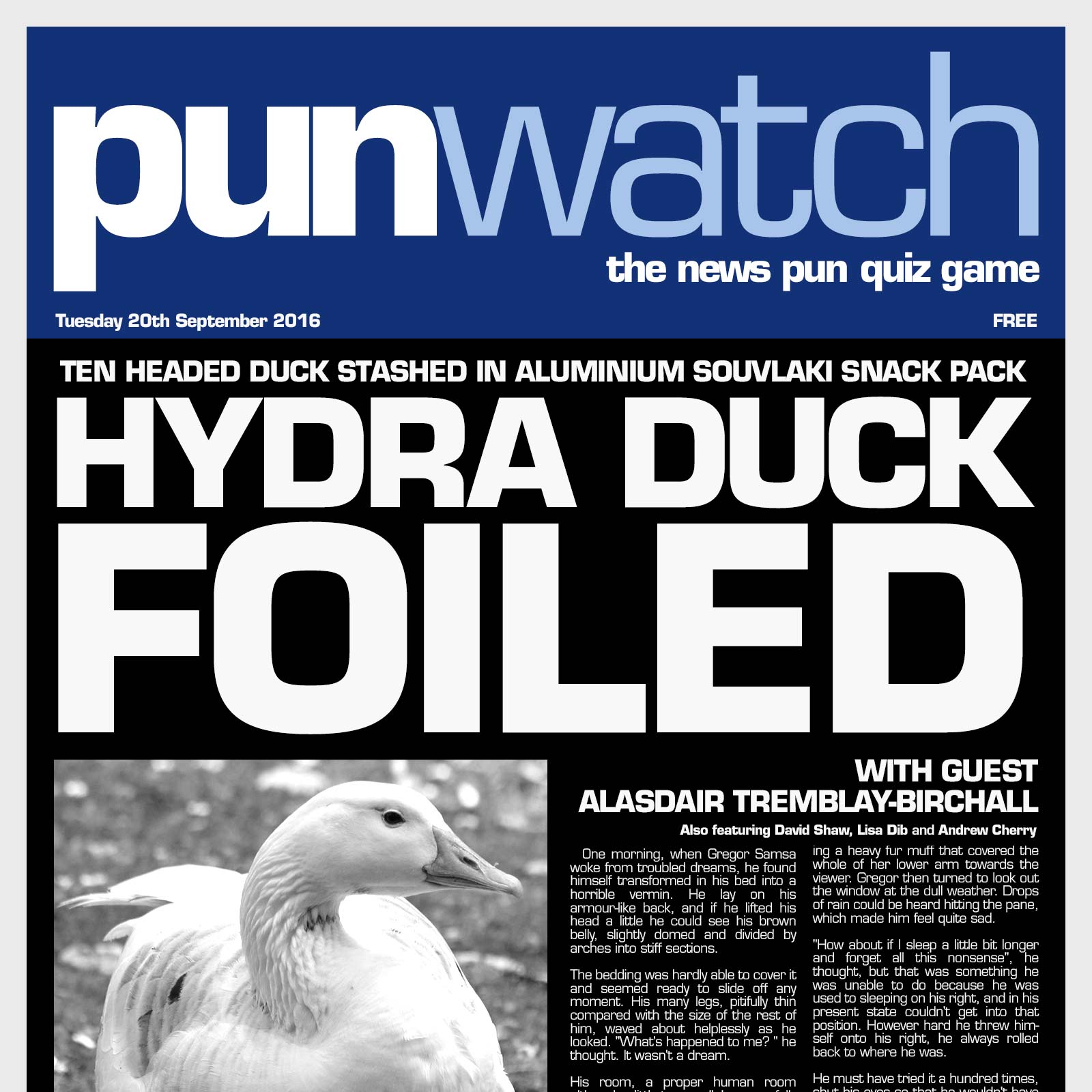 Artwork for 203 - Hydra Duck Foiled with Alasdair Tremblay-Birchall