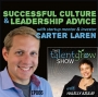 Artwork for 66: Successful culture and leadership advice from startup mentor and investor Carter Laren on the TalentGrow Show