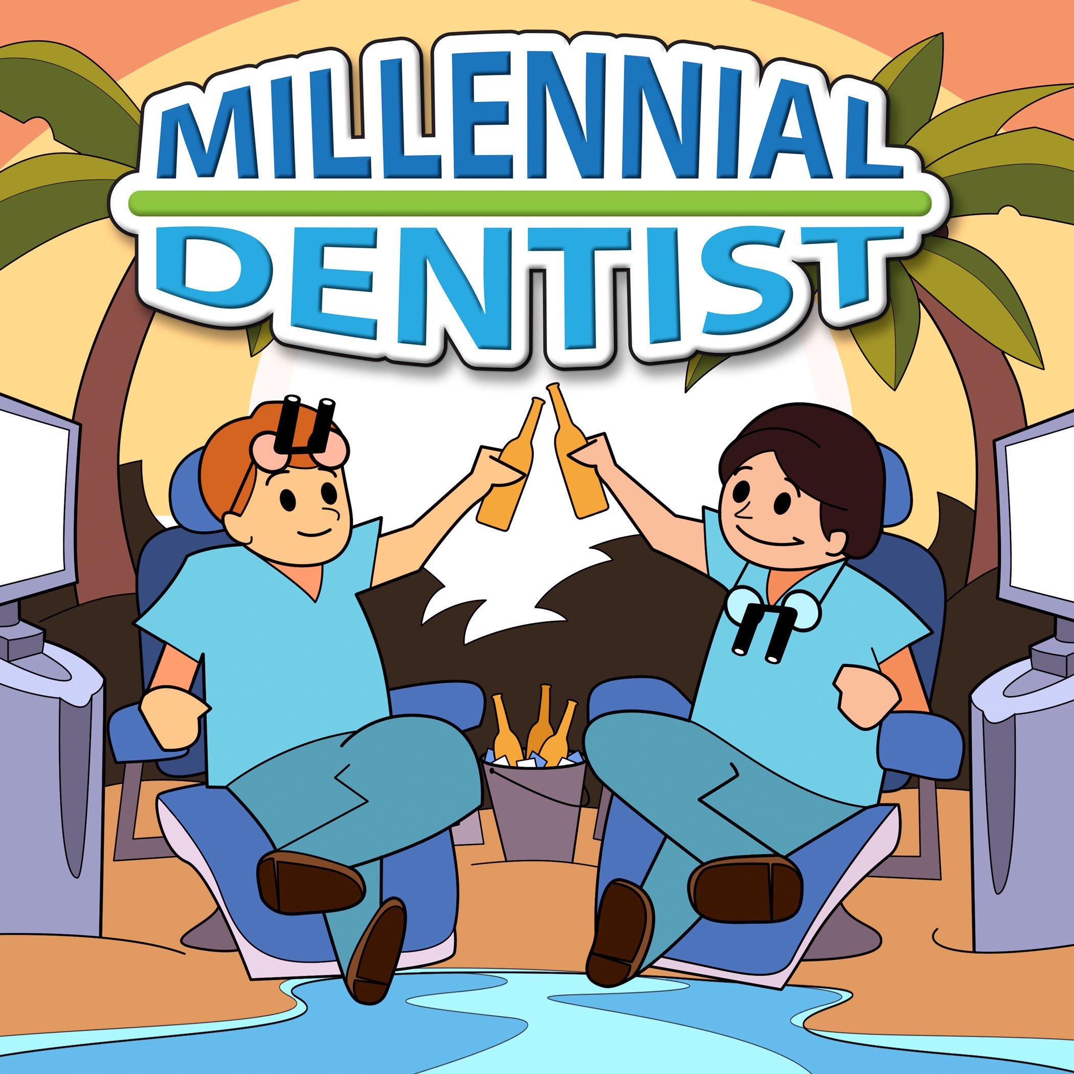 The Millennial Dentist show art