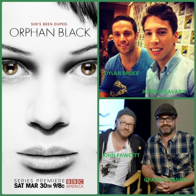 Episode 486 - SDCC: Orphan Black w/ Graeme Manson/John Fawcett (Creators/Producers), Jordan Gavaris (Felix) and Dylan Bruce (Paul)