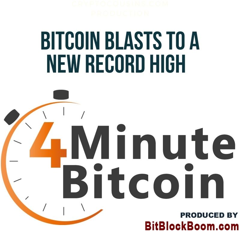 Bitcoin Blasts To A New Record High