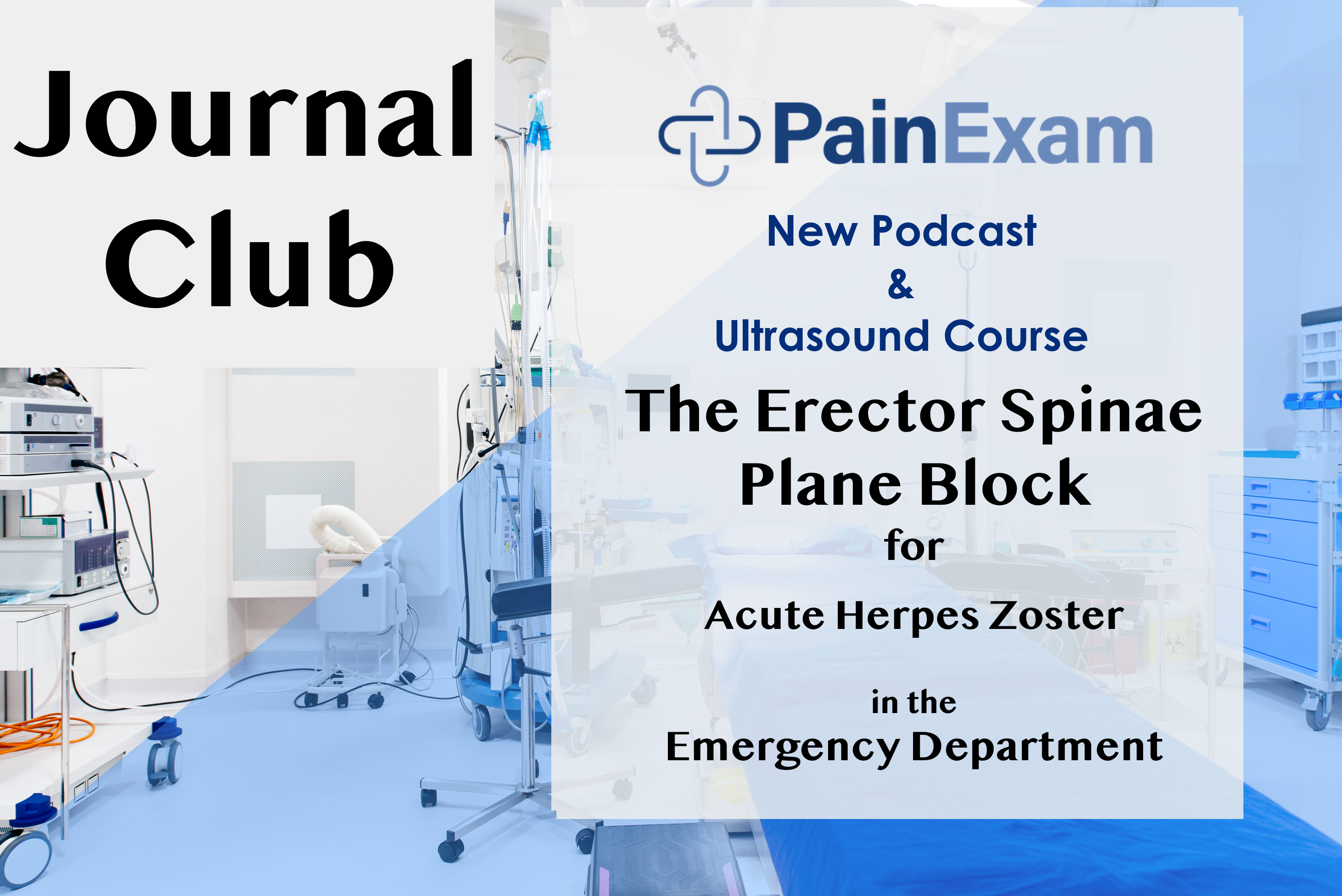 ESP Block for ER Docs, Regional Anesthesia Course March 14 on line
