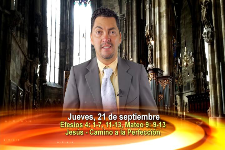 Artwork for Jueves, Septiembre 21, 2017  Tema el hoy:  Jesús - camino a la perfección