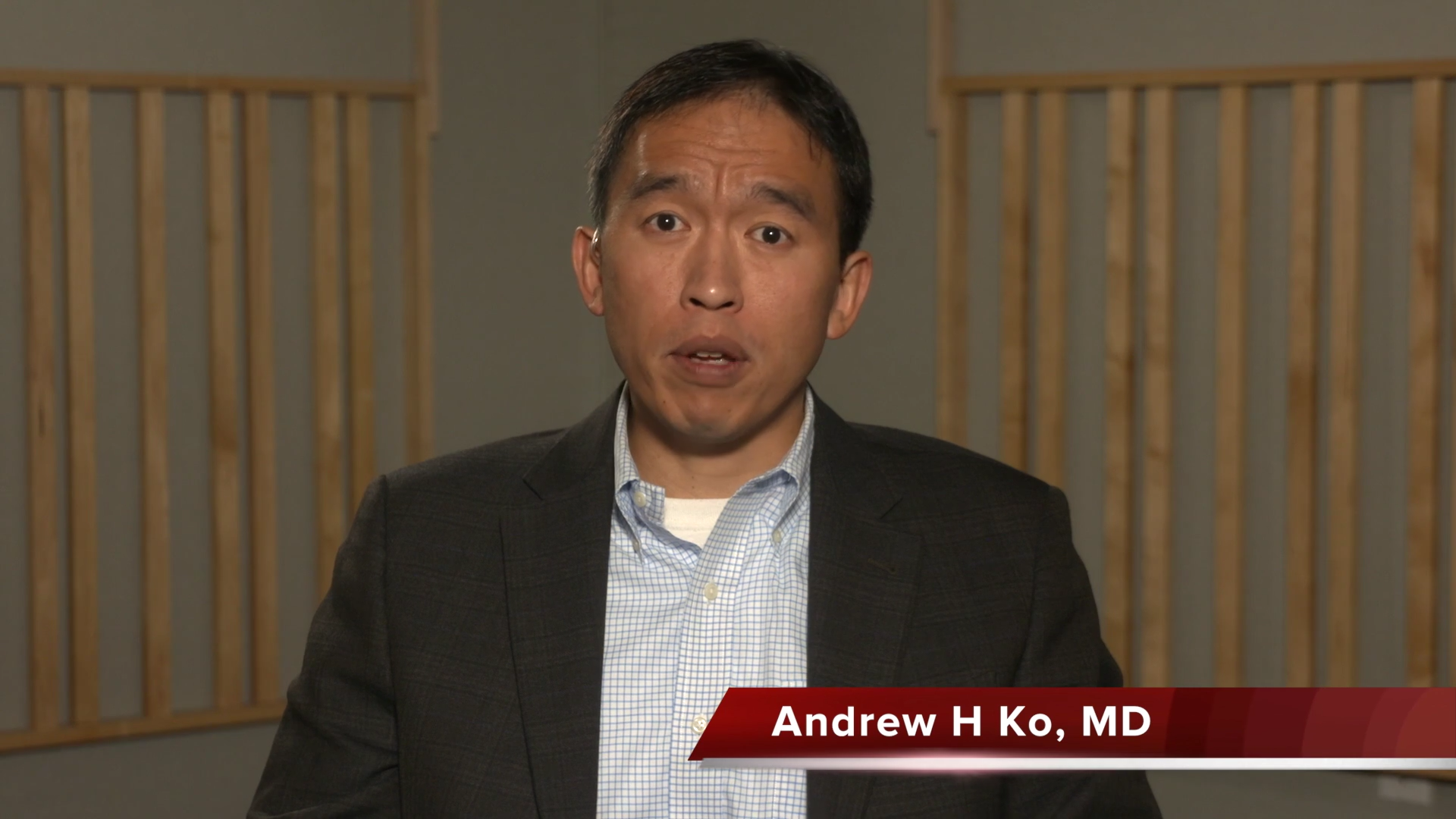 Artwork for Pancreatic   Interview with Andrew H Ko, MD