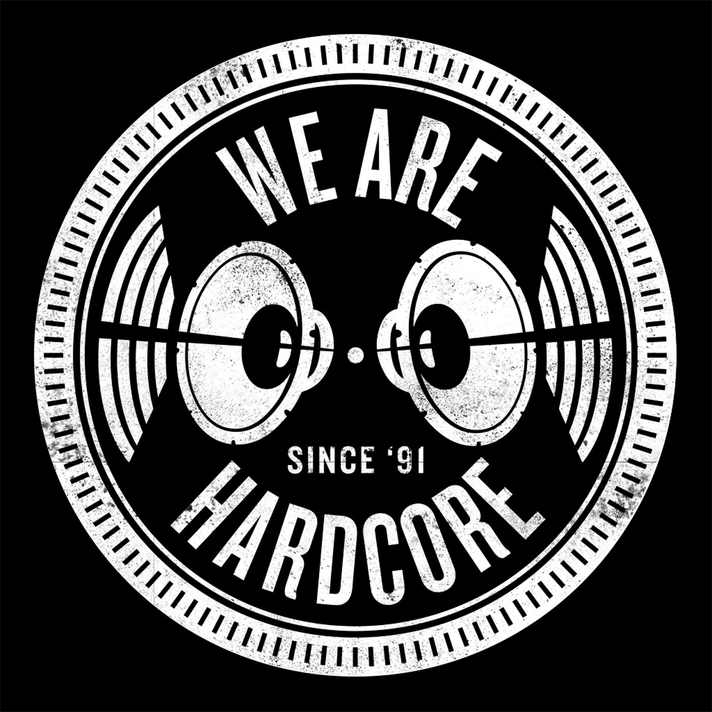 Jay Cunning presents We Are Hardcore podcast show art