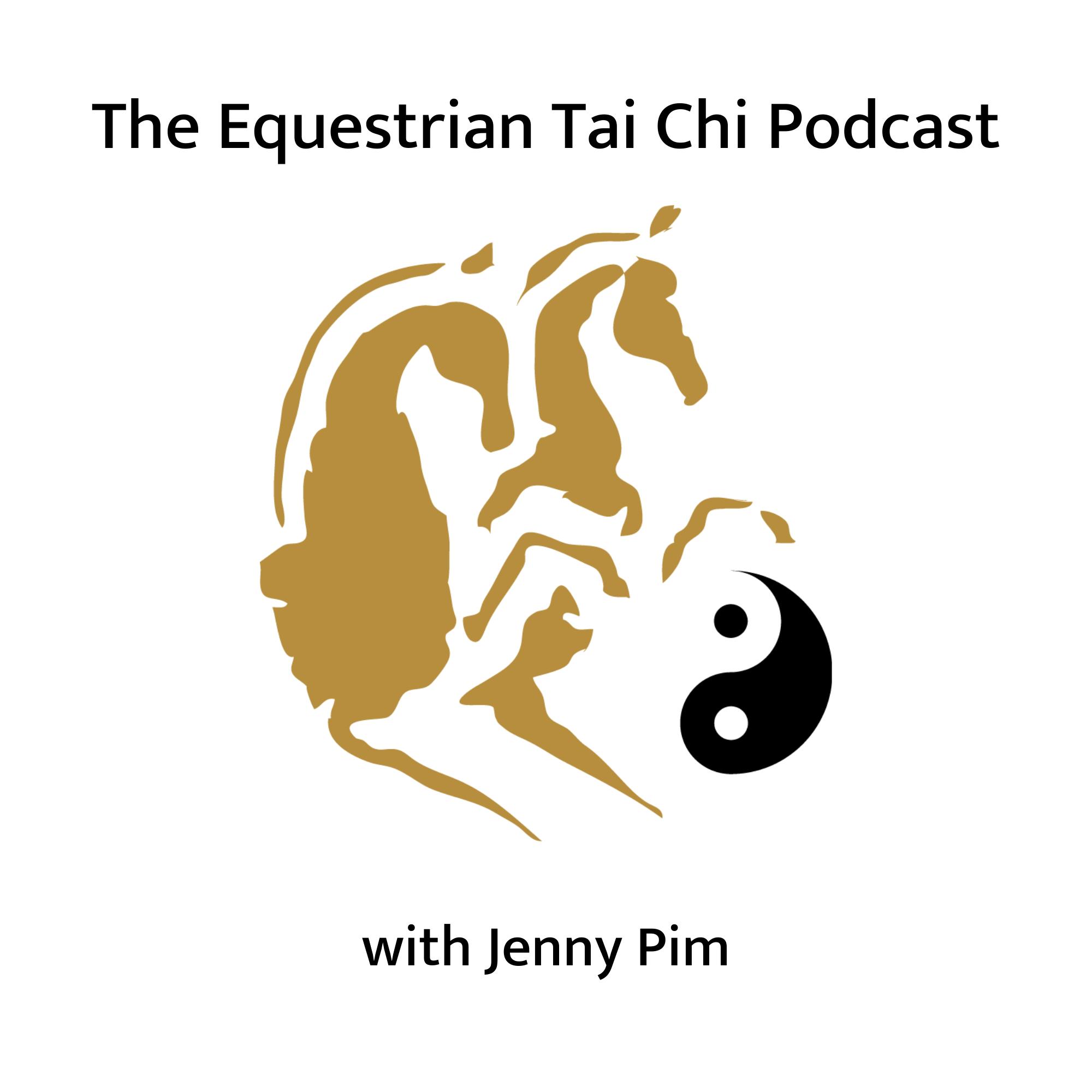 The Equestrian Tai Chi Podcast show art