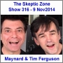 Artwork for The Skeptic Zone #316 - 9.Nov.2014