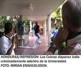 El Periodismo en Honduras Pt 2. - Dick Emanuelsson (Spanish  - Reporting from Honduras)