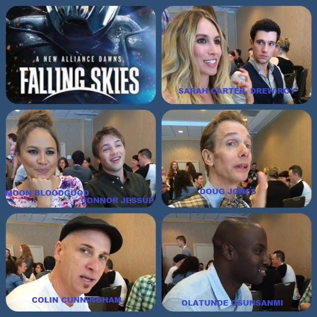 Episode 633 - SDCC: Falling Skies w/ Moon Bloodgood/Sarah Carter/Colin Cunningham/Connor Jessup/Doug Jones/Drew Roy/Olatunde Osunsanmi (Co-Executive Producer)!