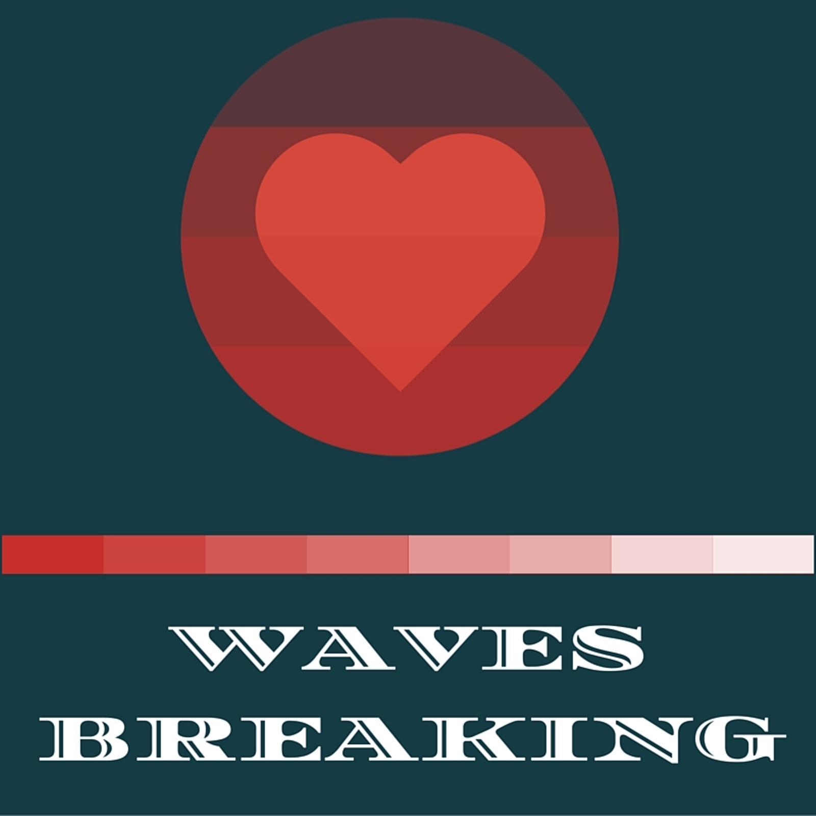 Waves Breaking show art