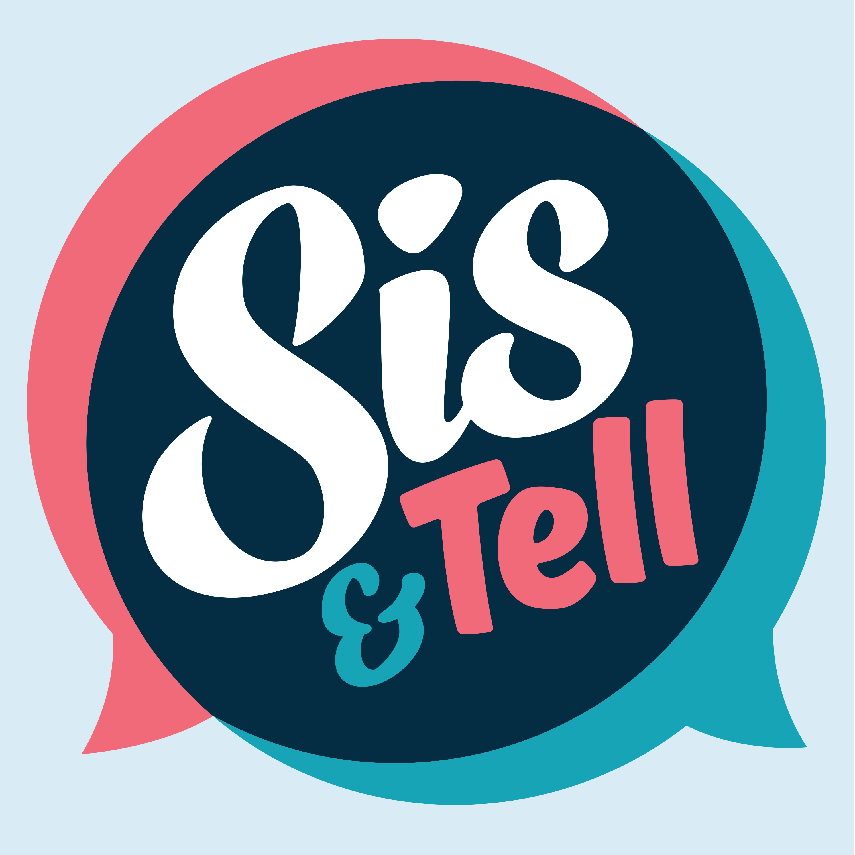 Sis & Tell Podcast show art