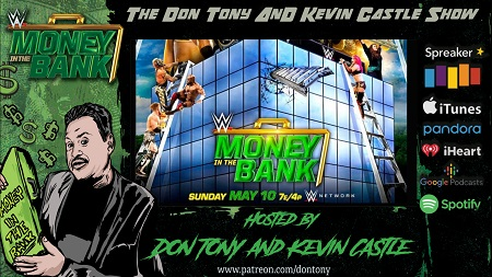 WWE Money In The Bank (2020) PPV Recap show art