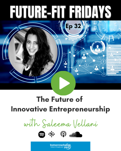 32: The Future of Innovative Entrepreneurship with Saleema Vellani show art