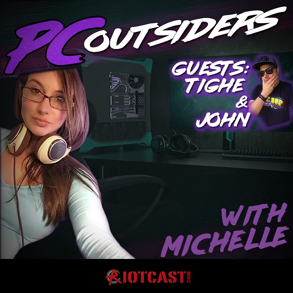 Artwork for PC Outsiders with Michelle (and Tighe/John) - Episode 3