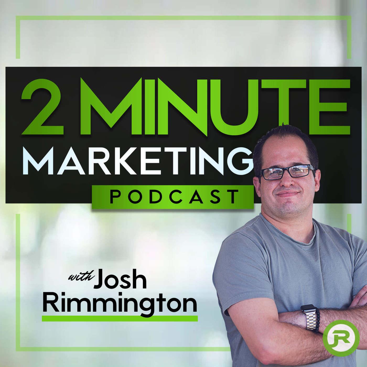2 Minute Marketing Podcast show art