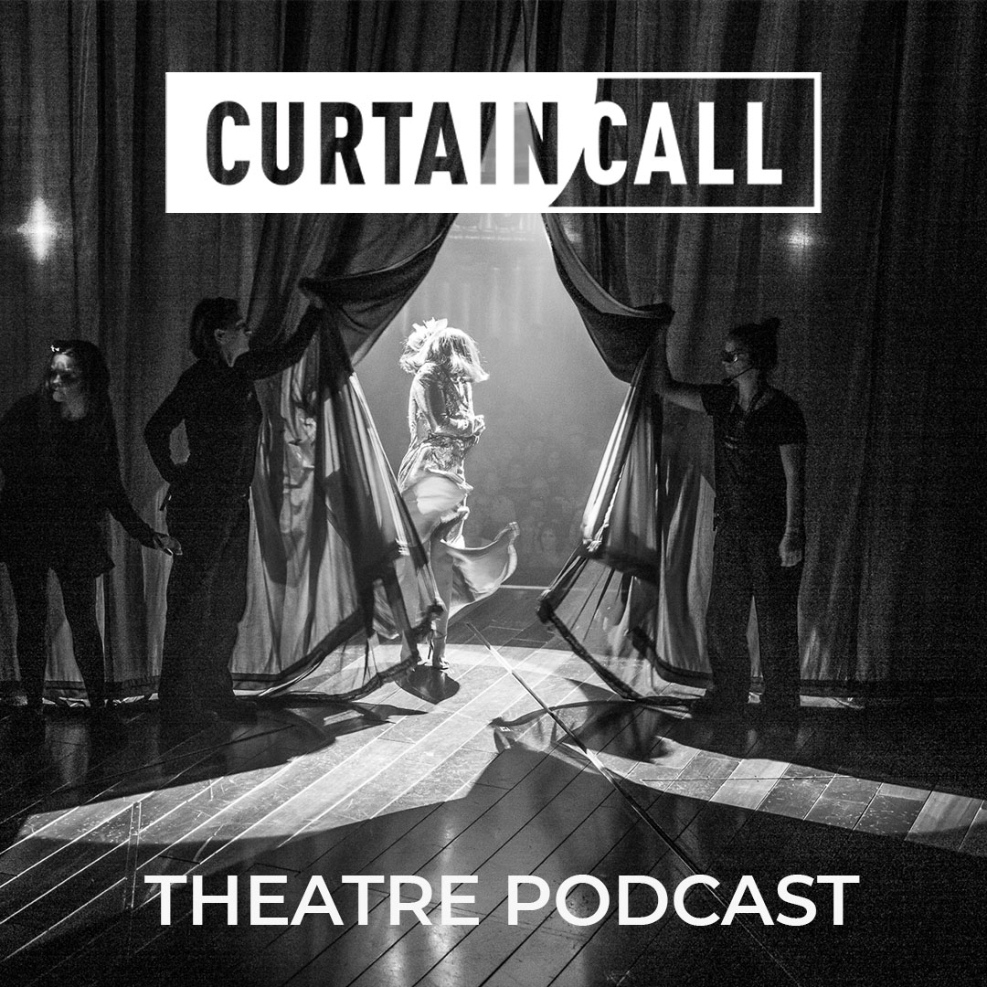Curtain Call Theatre Podcast show art