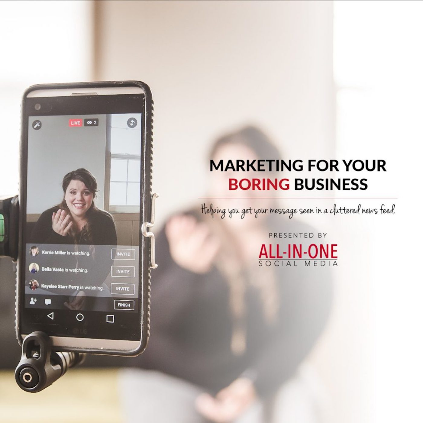 Artwork for Podcast 001 – Welcome To Marketing For Your Boring Business