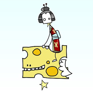 Episode 084 - Robo-Geisha on a flying piece of cheese
