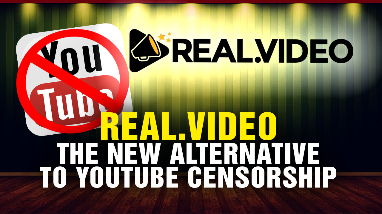 Artwork for REAL.video the new alternative to YouTube!