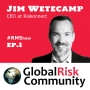 Artwork for Interview with Jim Wetecamp, CEO at Riskonnect